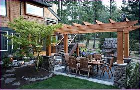 stunning patio landscaping ideas on a budget backyard corner