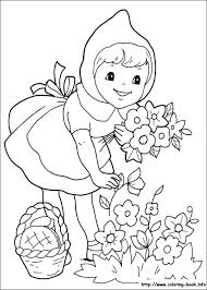 Little Red Riding Hood coloring pages on ColoringBookinfo