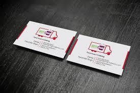 Playful Modern Indian Restaurant Business Card Design For A