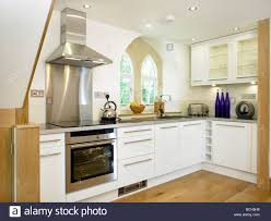 Renovated Kitchen Renovated Old School House Kitchen Interior Stock Photo Royalty