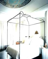 Iron Canopy Bed Metal Canopy Bed Frame Twin Iron Canopy Bed Frame