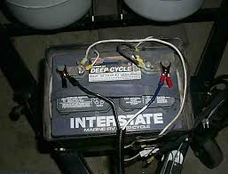 battery charge cable rv battery wiring color at Camper Battery Wiring