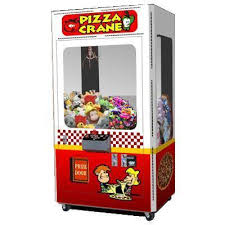 Claw Vending Machine Interesting Pizza Crane Machine Pizza Claw Vending Machine Gumball