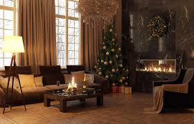 Living Room Christmas Decor Living Room Traditional Christmas Tree Decoration Ideas With