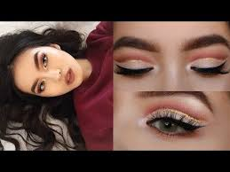 make up chit chat grwm glitter cut crease asian hooded eyes
