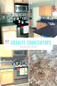 resurfacing laminate that looks like granite edge refinish counter tops how to resurface for under with concrete painted reface