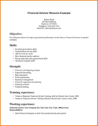 Career Advisor Resume Example Download Financial Advisor Resume Sample DiplomaticRegatta 21