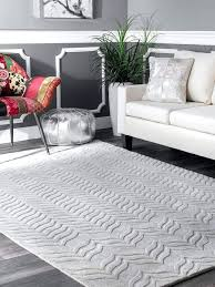 hand woven wool rug nuloom chunky cable