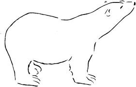 Small Picture Polar Bear Colouring Page Polar Bear Colouring Page Colouring Club