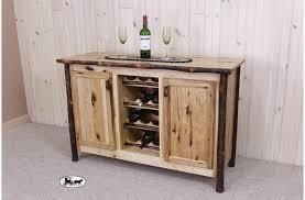Amish Made Adirondack Wine Racks and Cabinets New York
