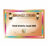 Customized Award Certificates For Teachers Schools School Stickers