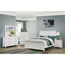 Solid Wood Contemporary Bedroom Furniture Classic Customizable Palladian Bedroom Set Modern Panel Bed 2