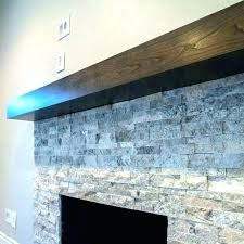 Modern Mantel Shelf Contemporary Fireplace Shelves Floating M .