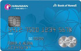 Hawaiian Airlines Bank Of Hawaii Launch New Mastercard Credit Cards