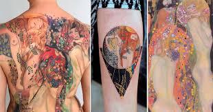 тату реплика The Art Of Masterpieces Inspired Tattoos Body