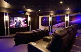 home elements and style medium size home theater wall panels modern with fiber optic star false