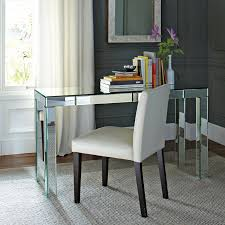 west elm mirrored parsons desk