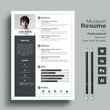 Modern Resume Formats Modern Professional Resume Template Download