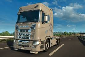 scania r6 crystal nature car