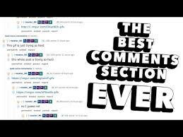 The Best Comments Section Ever - YouTube