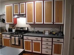 miscellaneous two tone kitchen cabinets interior