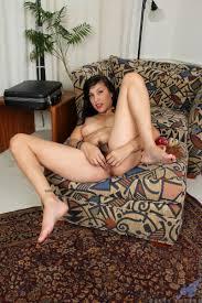 Anilos Betty Jones Seductive sales woman makes her hairy pussy cum.