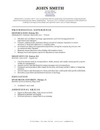 Classic Resume Template Thisisantler