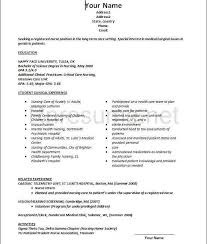12 Unique New Grad Lpn Resume Pictures Telferscotresources Com
