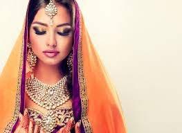 traditional indian bridal makeup png
