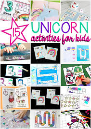 unicorns are the best play and learn with unicorns this summer with editable word games playdough mats crafts and word matching a magical way to brush