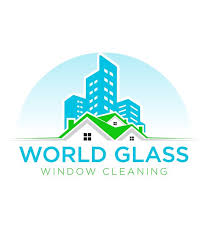 world glass window