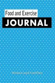 Food And Exercise Diary Food And Exercise Journal 2015 Blank Books N Journals