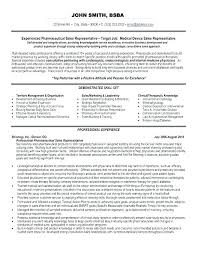 Medical Device Resume Medical Sales Sample Marketing Resume How To