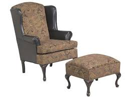 Hughes Furniture Living Room Wing Back Chair 2200WBC Russell s