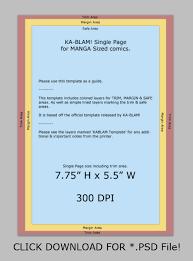 manga page size ka blam manga sized page template by kurisutin on deviantart