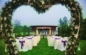 garden wedding reception decorations