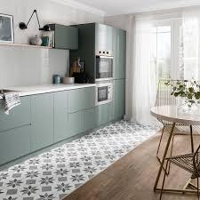 Ausergewohnlich Black And White Ceramic Tile Kitchen Floor Mats