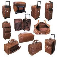 leather luggage set