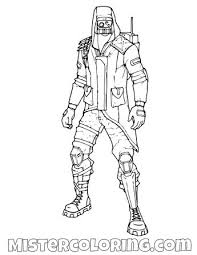 Fortnite Coloring Pages Print And Color Kleurplaten Beste