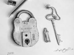 lock and key drawing.  And Feb2012 Intended Lock And Key Drawing A