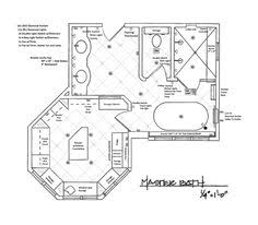 Creativity Modern Master Bathroom Floor Plans Of Enthralling Suite Using For Design
