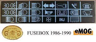 fuseboxes fusebox 1986 1990
