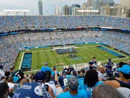 Panthers Stadium Chart Bank Of America Stadium Section 545 Home Of Carolina Panthers
