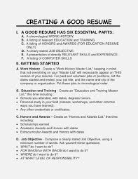Creating A Good Resume What Will Creating A Good Invoice And Resume Template Ideas