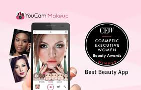 s youcam makeup app wins distinguished cew best beauty app award