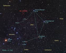 Tonight Sky Star Chart Libra Constellation Facts Myth Stars Deep Sky Objects