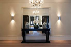 half round entry table on a budget as well as jazz up small hallway lighting ideas