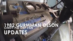 82 Grumman Olson Chevy P30 Step Van: Updates - YouTube