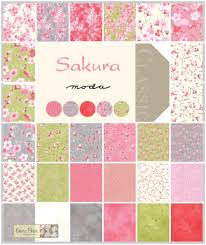 Sakura Fat Quarter Bundle. by Sentimental Studios for Moda Fabrics ... & Sakura Fat Quarter Bundle. by Sentimental Studios for Moda Fabrics. Adamdwight.com