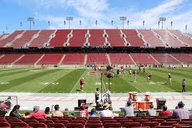 Stanford Stadium Section 113 Rateyourseats Com